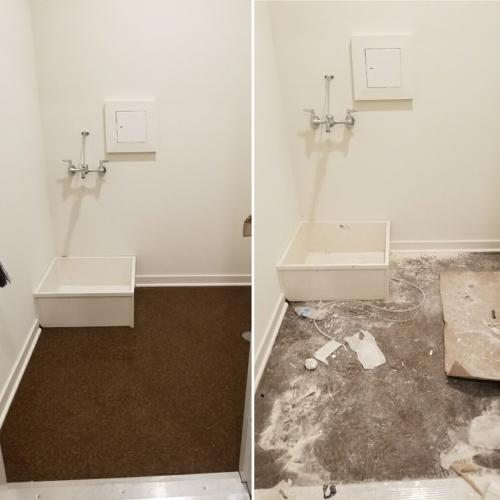 Before & After, Wash Basin